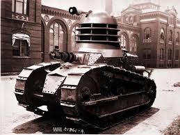 steam punk dalek tank