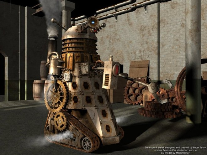 steam punk dalek