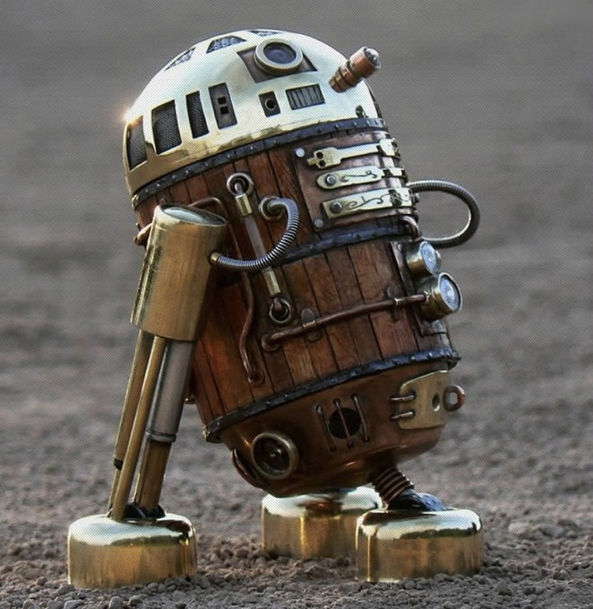 steam punk r2d2
