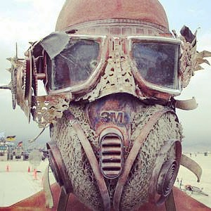 steampunk dust mask